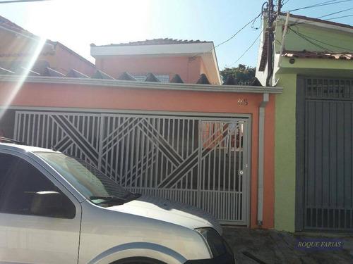 Casa Com 2 Dormitórios À Venda, 150 M² Por R$ 850.000,00 - Jaguaré - São Paulo/sp - Ca0558