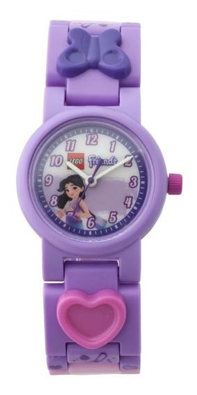 Reloj Infantil Friends Emma 8021223 Lego & Bulbbotz Oficial