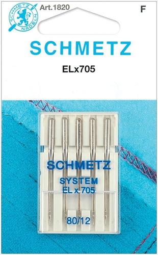 Elx705 - Agujas De Serrar (tamaño 12/80, 5 Unidades)