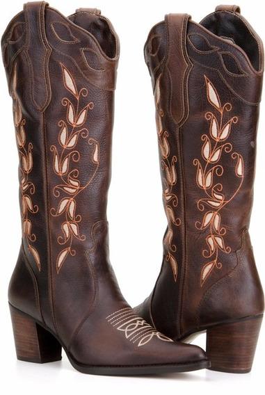 Bota Feminina Country Texana Capelli Boots
