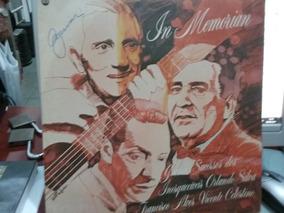 Lp Orlando Silva, Francisco Alves E Vicente Celestino