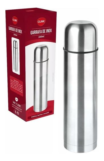 Garrafa Térmica Inox Quente E Frio 500ml - Clink