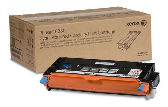 Cartucho Toner 5,9k Xerox Phaser 6280 - Ciano 106r01400