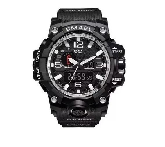 Relógio Masculino Smael 1545 Preto - Aprova D
