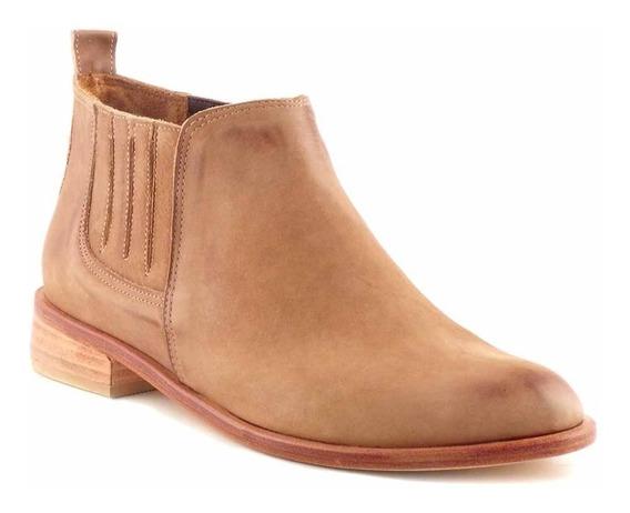 Botineta Mujer Botas Cuero Briganti Zapatos Dama - Mcbo24888