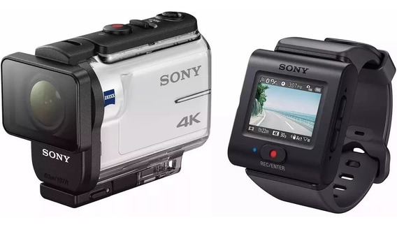 Sony Action Cam Fdr-x3000r 4k + Controle Remoto + Acessórios