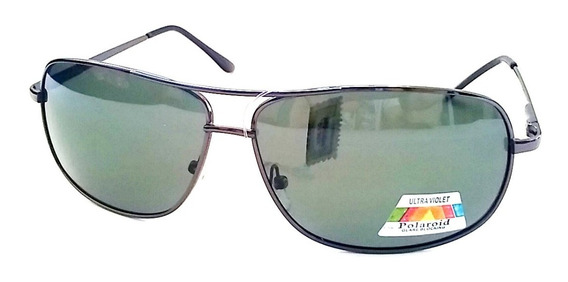 Lentes Gafas Sol Aviador Polarizado + Estuche Rigido