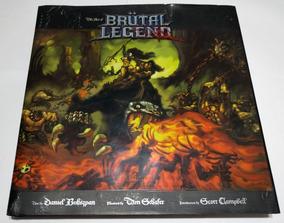 Livro The Art Of Brutal Legend + Brutal Legend, Autografados
