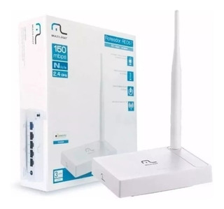 Roteador Wireless 150mbps 1 Antena 4 Portas Multilaser Re057