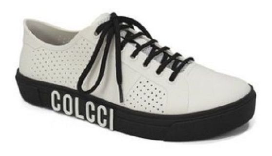 Tenis Furinhos Logo Plastic Branco - Colcci