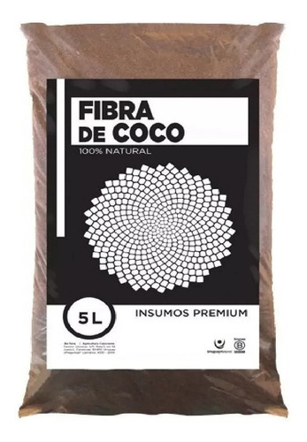 Imagen 1 de 5 de Fibra De Coco Orgánico Para Sustrato Bolsa 5 Litros Oferta