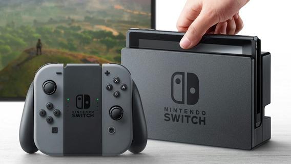 Nintendoswitch 32gb Novo Caixa Lacrada Envio De Imediato