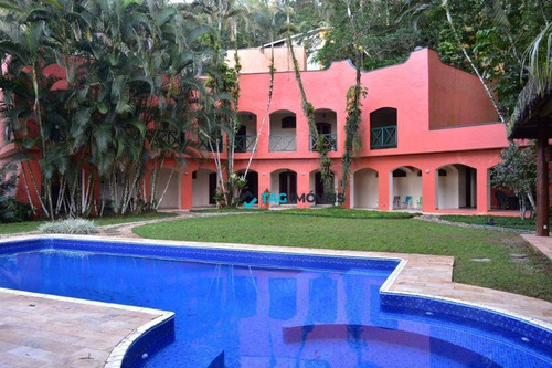 Casa Com 6 Dormitórios À Venda, 415 M² Por R$ 4.900.000,00 - Maranduba - Ubatuba/sp - Ca0485