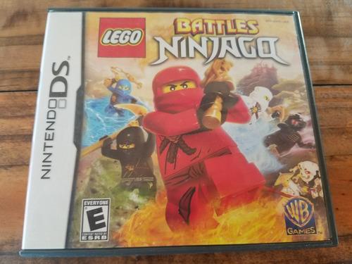Juego Nintendo Ds Lego Battles Ninjago