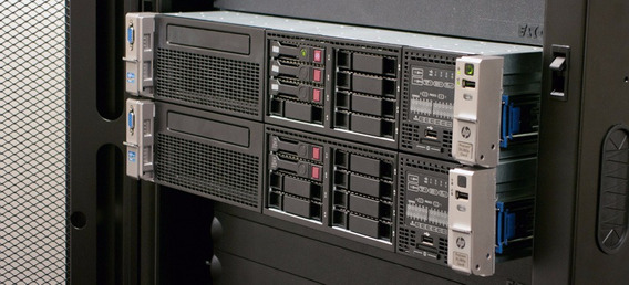 Duas Unidades Server Hp Dl380 P G8 2x E5-2665 32gb 2x 300sas
