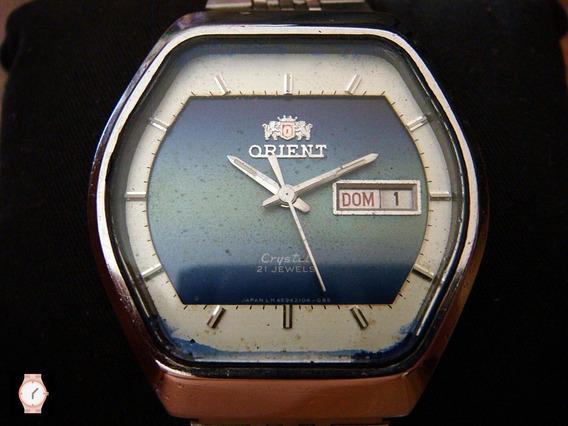 Clásico Reloj Orient Vintage Automático Hexa.