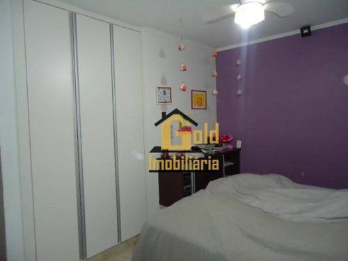 Casa Com 3 Dormitórios À Venda Por R$ 500.000 - Residencial E Comercial Palmares - Ribeirão Preto/sp - Ca0765