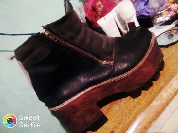 Zapato De Mujer, Color Negro, Talle 36. Detalles A La Vista