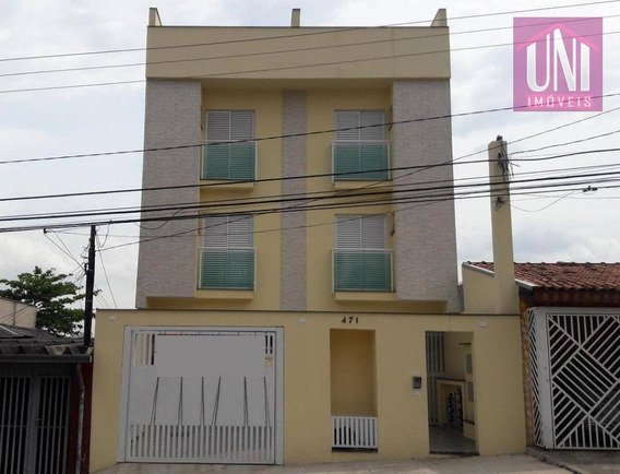 Cobertura Residencial À Venda, Vila Metalúrgica, Santo André. - Co0277
