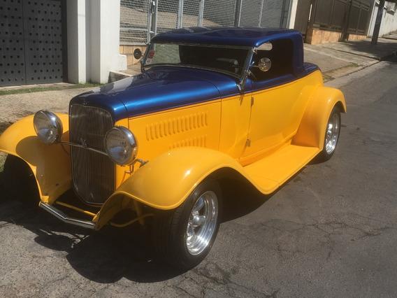 Hot Rod Ford Roadster Conversivel V8 1932 Antigo