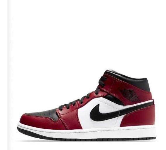 Air Jordan 1 Mid Chicago Og Low High Bred Red Rojos