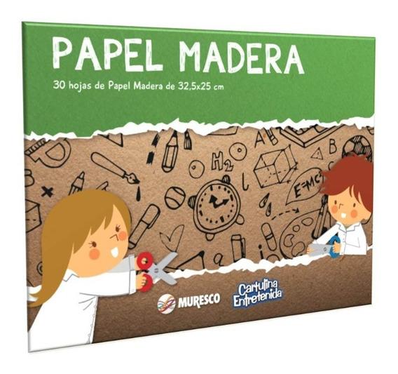 Block Papel Madera X30 Hojas - Muresco