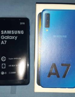 Samsung A7 2018 Poco Uso 128gb Ds