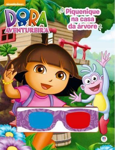 Livro Dora A Aventureira Piquenique Na Casa Da Árvore 3d