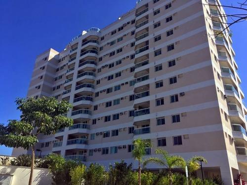 Apartamento À Venda No Bairro Recreio Dos Bandeirantes - Rio De Janeiro/rj - O-8999-18114