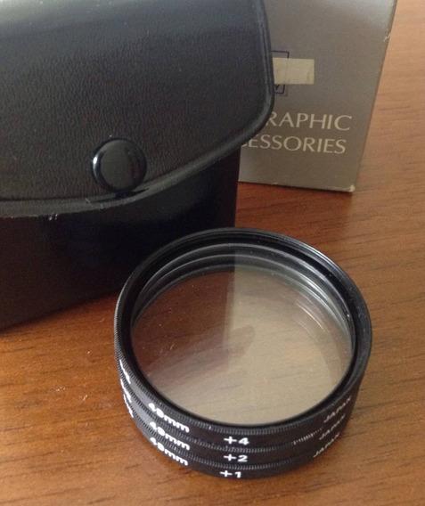 Filtros S&k Close-up 1x, 2x, 4x, 58mm