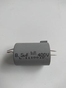 Capacitor 8,5uf; 400v; Ventilador,portão; Kit 9 Pç Por R$149
