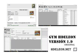 Sistema Para Gimnasio | Huella, Puerta | Original 1.9
