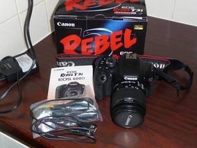 Câmera Cânon T3i Completa