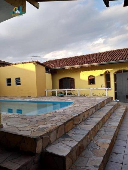Casa Com 2 Dormitórios À Venda, 178 M² Por R$ 350.000 - Balneário Itaguaí - Mongaguá/sp - Ca1081