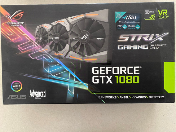Asus Gtx 1080 Strix Advanced 8g