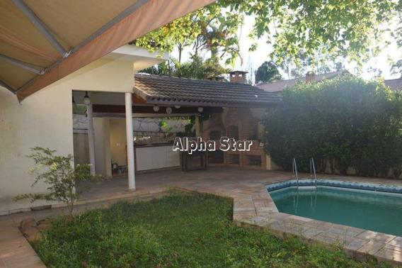 Casa Com 4 Dormitórios À Vendo 285 M² Por R$ 1.650.000 - Alphaville Residencial 4 - Santana De Parnaíba/sp - Ca1802