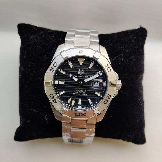 Relógio Automático Aqua 3 Anos Garantia C/frete 12x S/juros