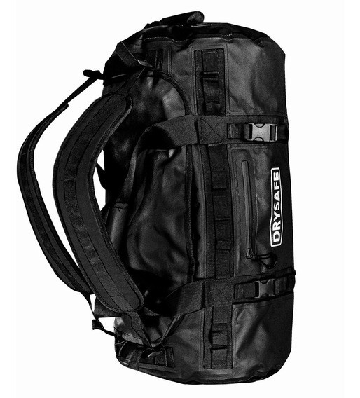 Bolso Mochila 60 Lts Impermeable Camping Trekking Drysafe