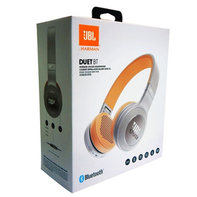 Fone De Ouvido Jbl Duet Bt Cinza Grey Bluetooth Original