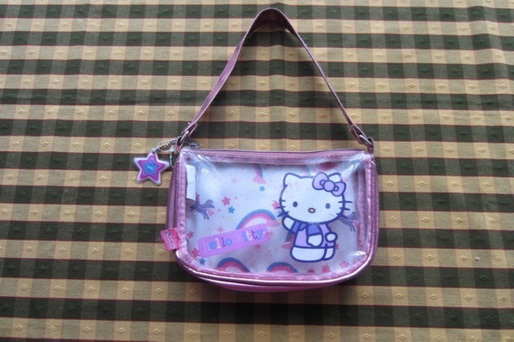 Cartera De Kitty!!!, Marca Footy!!!, Casi Nueva!!, Impecable