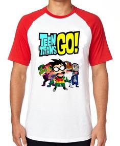 4a14d99ecb Camisa Do Robin Dos Jovens Titans Em Açao Vermelha - Calçados ...