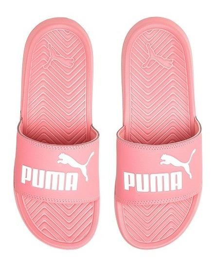 Chinelo Slide Puma Popcat Rosa - Original