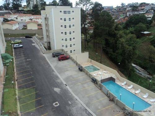 Apartamento Residencial À Venda, Resort Da Granja, Granja Viana. - Ap0038