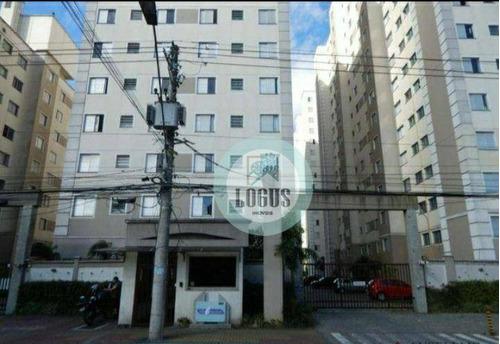 Imagem 1 de 12 de Apartamento Com 2 Dormitórios À Venda, 49 M² Por R$ 280.000,00 - Vila Homero Thon - Santo André/sp - Ap1754