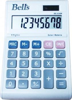 Kit Com 06 Calculadoras De Mesa Bells 8 Dígitos Atacado