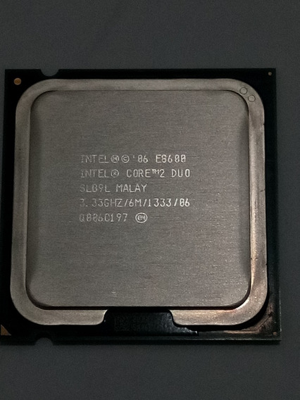 Processador Intel Core 2 Duo E8600 - 3.33 Ghz - 6m - Lga775