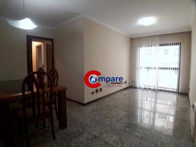 Apartamento Com 3 Dormitórios Para Alugar, 86 M² Por R$ 1.450/mês - Vila Rosália - Guarulhos/sp - Ap5460