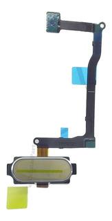 Tecla Home + Flex Samsung Sm-n920 / Note 5 Dourado Original