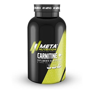 Carnitina Meta Nutrition Carnitine 90 Capsulas