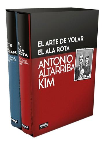 El Arte De Volar Y El Ala Rota. Cofre Edición Coleccionista.